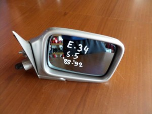 BMW series 5 E34 1988-1991 ηλεκτρικός καθρέπτης δεξιός ασημί
