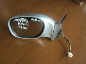 Toyota Rav 4 1998-2000 ηλεκτρικός καθρέπτης αριστερός ασημί