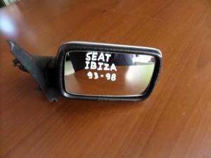 Seat Ibiza 1993-1998 μηχανικός καθρέπτης δεξιός ασημί