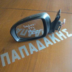 Suzuki Sx 4 2012-2013 καθρέπτης αριστερός ηλεκτρικός ανακλινόμενος με φλας γκρι