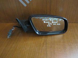 Audi A3 2000-2003 5θυρο καθρέπτης δεξιός ηλεκτρικά ανακλινόμενος 11 καλώδια μπλέ σκούρο