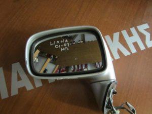 Suzuki Liana 2001-2007 αριστερός ηλεκτρικός καθρέπτης ασημί