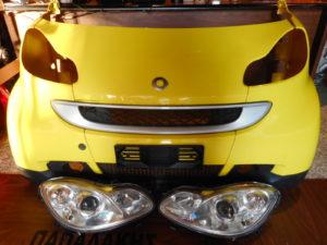 Μούρη Smart ForTwo w451 2007-2014 κίτρινη