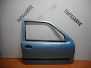 Fiat Seicento 1998-2007 πόρτα δεξιά δύθυρη γαλάζια