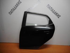 Mazda 2 2007-2014 πόρτα πίσω αριστερή μαύρη