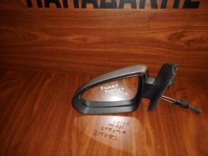 Smart ForTwo w451 2007-2014 μηχανικός καθρέπτης αριστερός ασημί