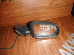 Volvo S40/V50 2008-2012 ηλεκτρικός καθρέπτης δεξιός μαύρος 6 καλώδια