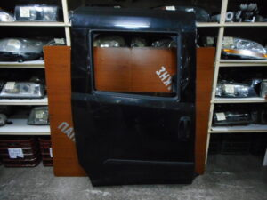 Fiat Doblo 2010-2019 πίσω δεξιά πόρτα συρόμενη ανθρακί (με γρύλλο ηλεκτρικό)