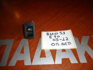 Bmw S3 E90 2005-2012 διακόπτης ηλεκτρικού παραθύρου εμπρός δεξί- πίσω δεξί- πίσω αριστερό