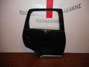 Mitsubishi Outlander 2007-2013 πόρτα πίσω δεξιά μαύρη