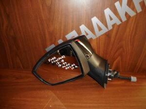 Ford Ecosport 2013-2020 ηλεκτρικός ανακλινόμενος καθρέπτης αριστερός μαύρος 10 καλώδια φως ασφαλείας