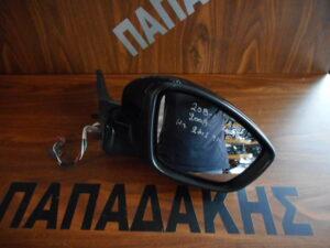 Peugeot 208/2008 2012-2019 ηλεκτρικός καθρέπτης δεξιός μαύρος 9 καλώδια 2 φις