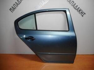 Skoda Octavia 5 2004-2013 πίσω δεξιά πόρτα μπλε ανοιχτό