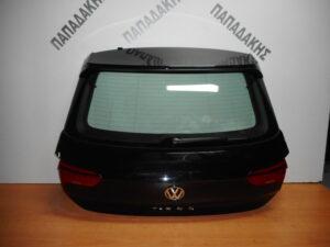 VW T-Roc 2017-2020 οπίσθια πόρτα (5η) μαύρη