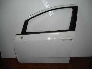 Fiat Grande Punto Evo 2009-2015 εμπρός αριστερή πόρτα άσπρη