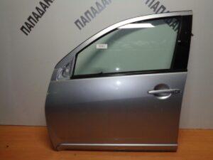 Mitsubishi Outlander 2007-2013 πόρτα εμπρός αριστερή ασημί