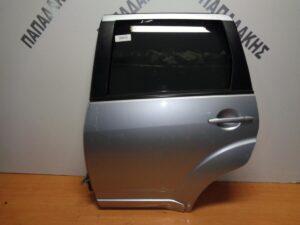 Mitsubishi Outlander 2007-2013 πόρτα πίσω αριστερή ασημί