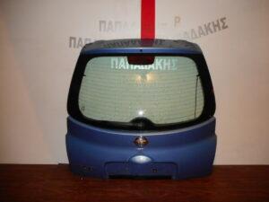 Nissan Micra K12 2003-2010 οπίσθια πόρτα (3η/5η) μπλε ανοιχτό
