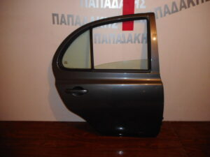 Nissan Micra K12 2003-2010 πίσω δεξιά πόρτα μολυβί