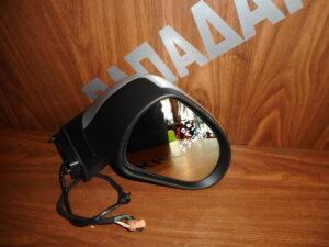 Peugeot 207 2006-2012 ηλεκτρικός καθρέπτης δεξιός ασημί 9 καλώδια