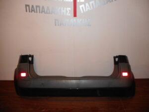 Renault Scenic 2003-2009 προφυλακτήρας εμπρός ανθρακί